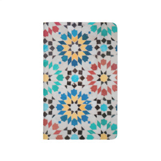 Arabic Mosaic Pocket Journal