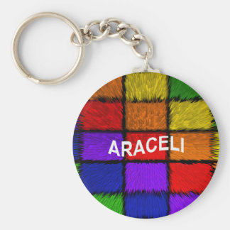 ARACELI ( female names ) Basic Round Button Keychain