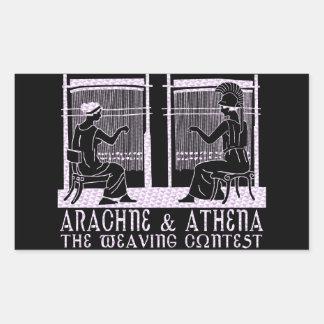 Arachne vs. Athena Sticker