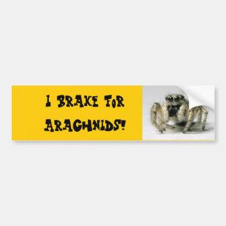 Arachnid Bumper Sticker