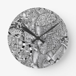"""Arachnophile"" Clock"