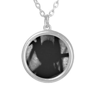 Arachnophobia... Silver Plated Necklace