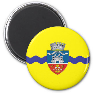 arad city flag romania symbol magnet