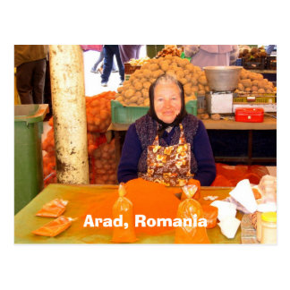 Arad, Romania Postcard