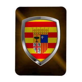 Aragón Metallic Emblem Magnet