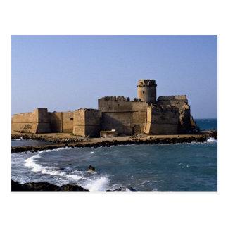 Aragonese Castle, Calabria, Italy Postcard