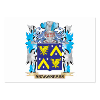 Aragoneses Coat Of Arms Business Cards