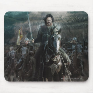 Aragorn Leading on Horse Mouse Pad