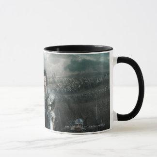 Aragorn Leading on Horse Mug