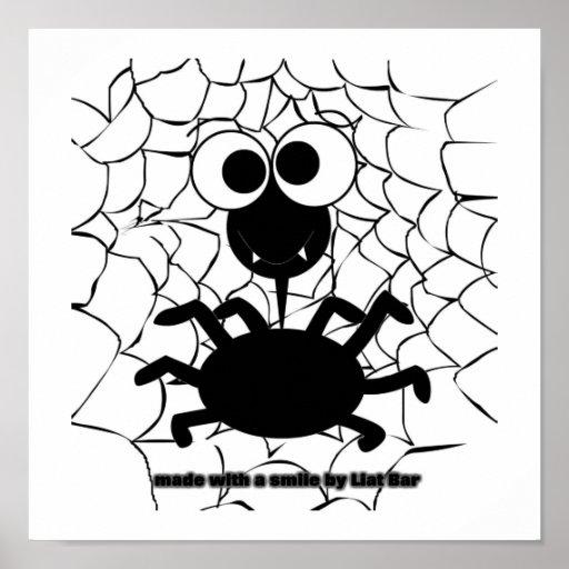 araignée mignonne posters