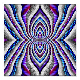 Araignée psychédélique… perfect poster