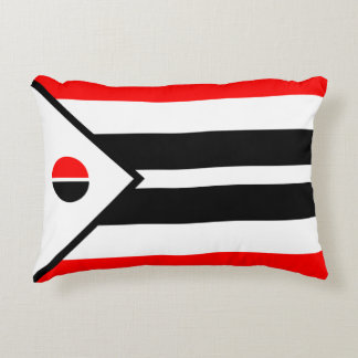 Arapaho Nation Flag Accent Pillow