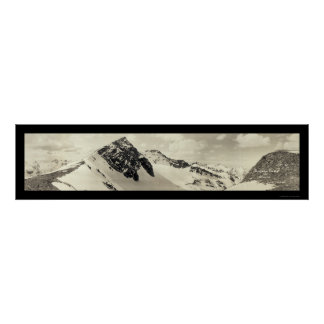 Arapahoe Peaks CO Photo 1921 Poster