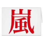 Arashi Japanese Storm Cards