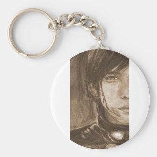 Arashi Nino Cry Gantz Sepia Basic Round Button Keychain