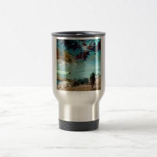 ARASHIYAMA TAKAGI Glass Magic Lantern Slide Travel Mug