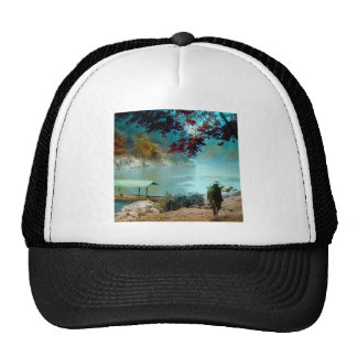 ARASHIYAMA TAKAGI Glass Magic Lantern Slide Trucker Hat