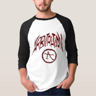 Arbitration Baseball shirt (Grey/Black)