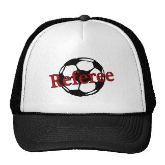 Arbitre du football casquettes de camionneur