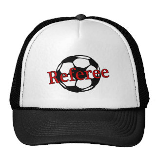 Arbitre du football casquette
