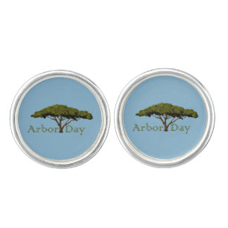 Arbor Day Cuff Links