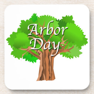Arbor Day Tree Holiday Coaster