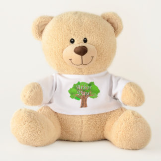 Arbor Day Tree Holiday Teddy Bear