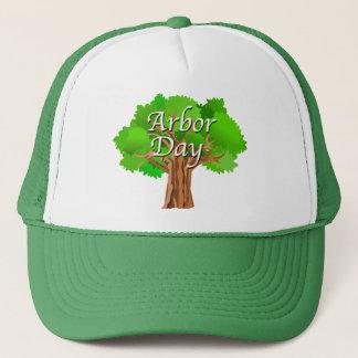 Arbor Day Tree Holiday Trucker Hat