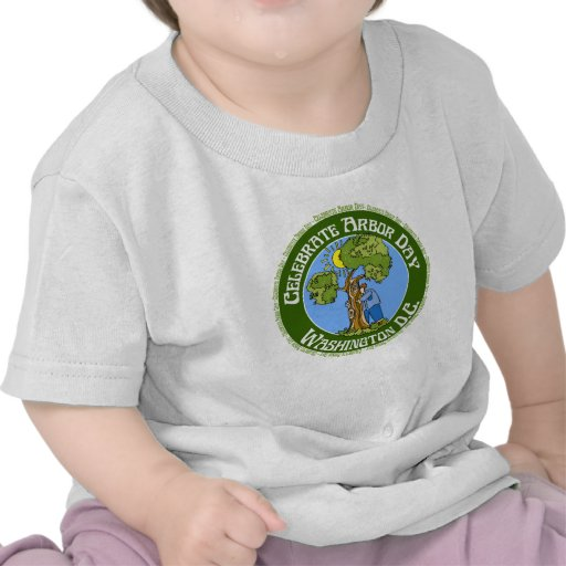 Arbor Day Washington DC Shirts