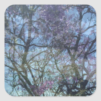 Arbor in Bloom, Stickers, 1½ inch (sheet of 20) Square Sticker