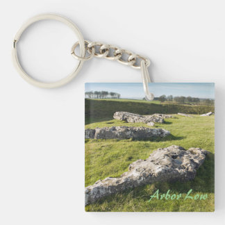 Arbor Low Stone Circle in Derbyshire photo Keychain