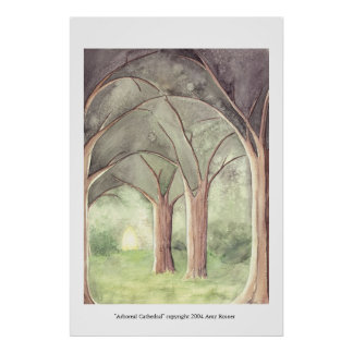 Arboreal Cathedral Poster