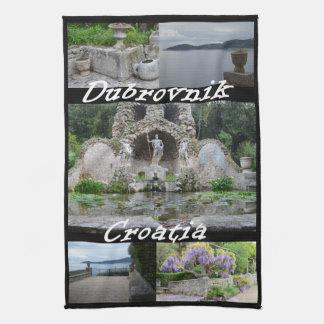 Arboretum, Dubrovnik, Croatia Kitchen Towel