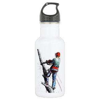 Arborist Tree Surgeon Stihl christmas xmas 532 Ml Water Bottle