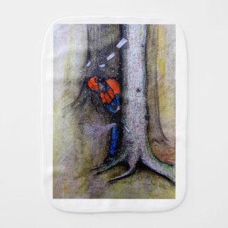 Arborist tree surgeon stihl husqvarna burp cloth