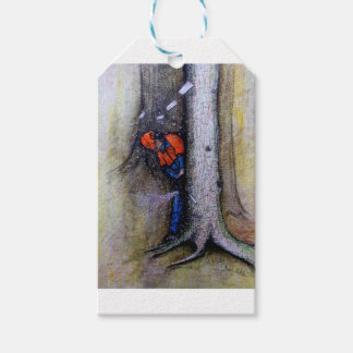 Arborist tree surgeon stihl husqvarna pack of gift tags