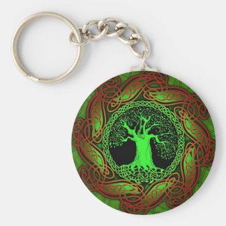 Arbre celtique II de sagesse Porte-clés