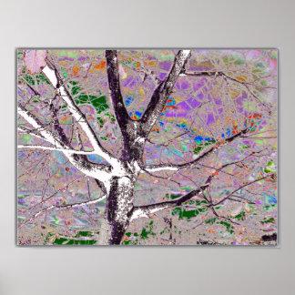 arbre dans le dark-29a poster