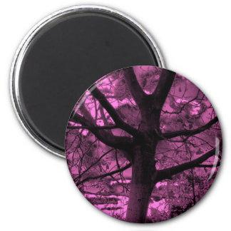 arbre dans le dark-62a magnets pour réfrigérateur