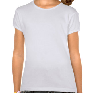 Arbre de Noël moderne de corail de point de polka T-shirts