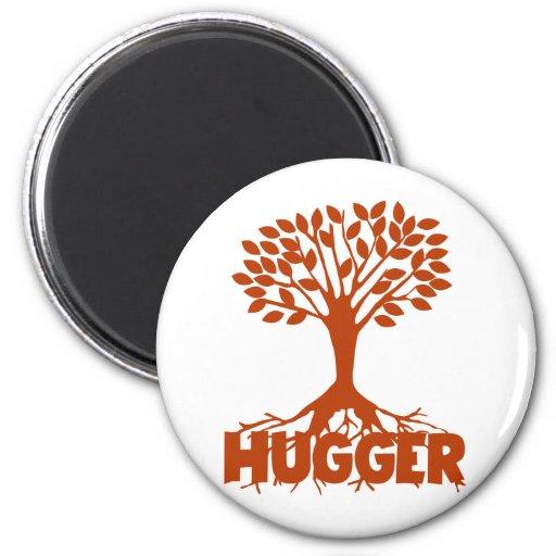 Arbre Hugger Magnet Rond 8 Cm
