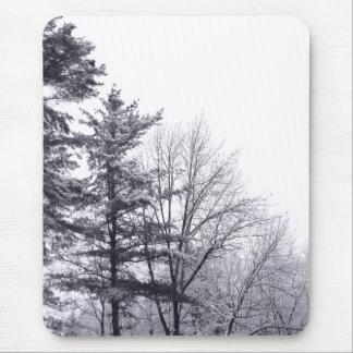 arbres Neige-couverts : Vertical Tapis De Souris