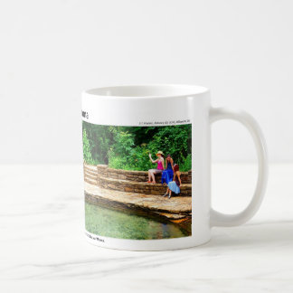 Arbuckle Mountains II - Magic of a Waterfall, plus Coffee Mug
