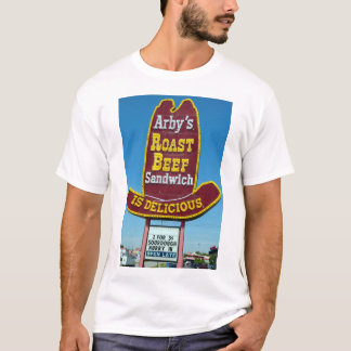ARBY'S ROAST BEEF SANDWICH Sign T-Shirt