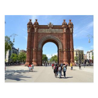 'Arc de Triomf', Barcelona Postcard
