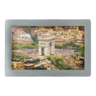Arc de Triomphe de l'Étoile, Paris, France Belt Buckle