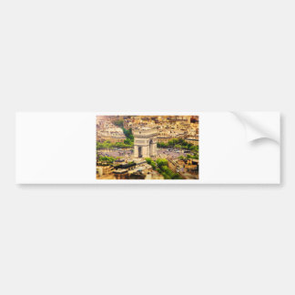 Arc de Triomphe de l'Étoile, Paris, France Bumper Sticker