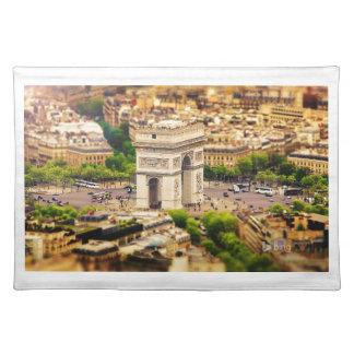 Arc de Triomphe de l'Étoile, Paris, France Placemat