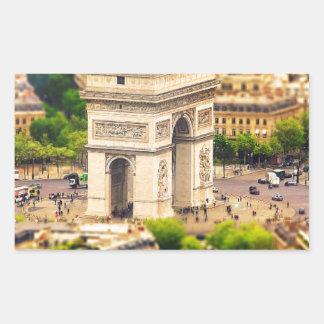 Arc de Triomphe de l'Étoile, Paris, France Sticker