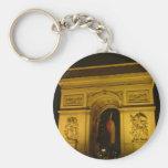 Arc de Triomphe in Paris (France) Keychain
